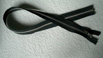 21 inch Dark Brown Vislon #5V Separating Ideal Zipper New!