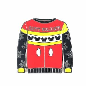 Disney Ugly Christmas Sweater.Details About Mickey Mouse Ugly Christmas Sweater Mystery Set Disney Pin