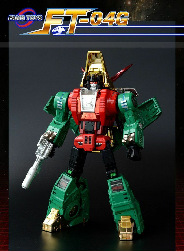 Fanstoys FT-04G Scoria, limited edition, Transformers Masterpiece G2 Slag