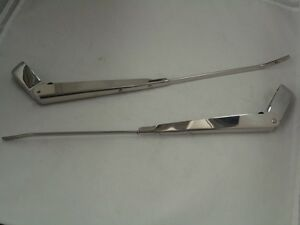 1961 1972 ford pickup truck wiper arm set stainless steel ebay image is loading 1961 1972 ford pickup truck wiper arm set publicscrutiny Choice Image
