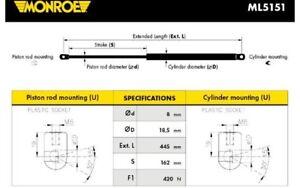 BOLK Muelle neumático maletero//compartimento de carga trasero CITROEN BOL-A381