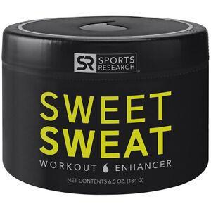Sports Research 6.5 oz Sweet Sweat Workout Enhancer Gel - Original