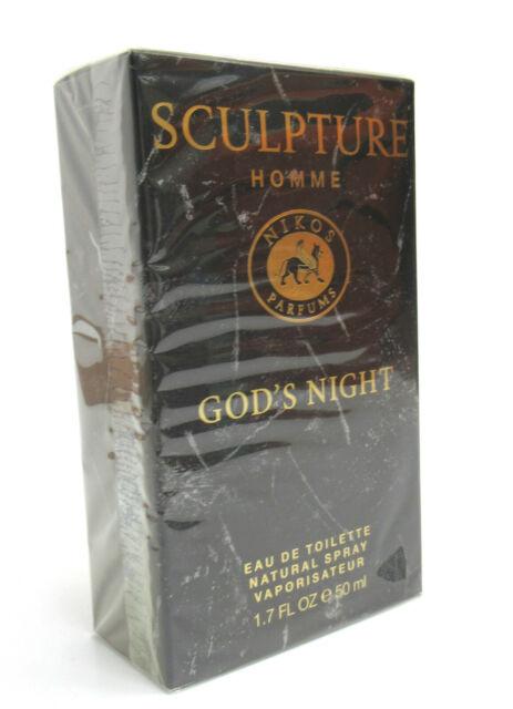 Compañero Goma obvio  Nikos Sculpture Homme Gods Night 100 ml Eau De Toilettte günstig kaufen |  eBay