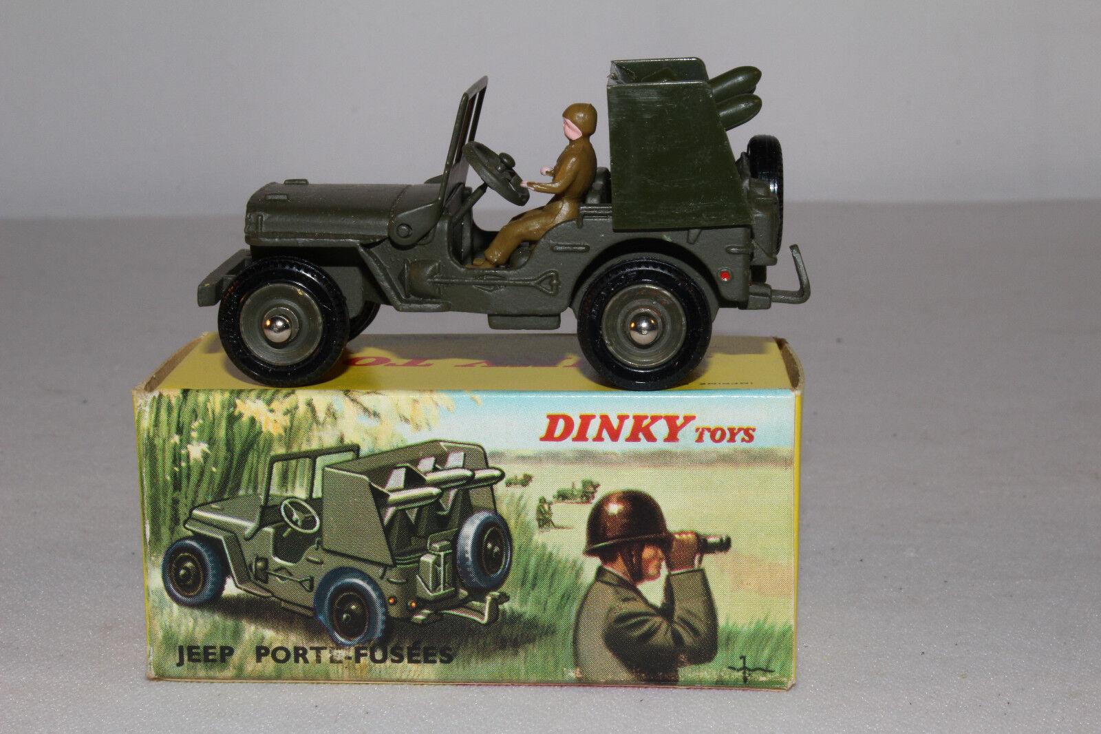 597ms Français Dinky 828 Fusée Transporteur Jeep, Agréable