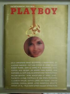 Playboy-December-1965-Very-Good-Condition-Free-Shipping-USA