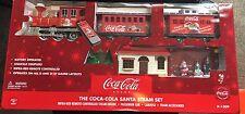 COCA COLA K-LINE K-1309 SANTA STEAM TRAIN SET REMOTE CONTROLLED NEVER OPENED NEW