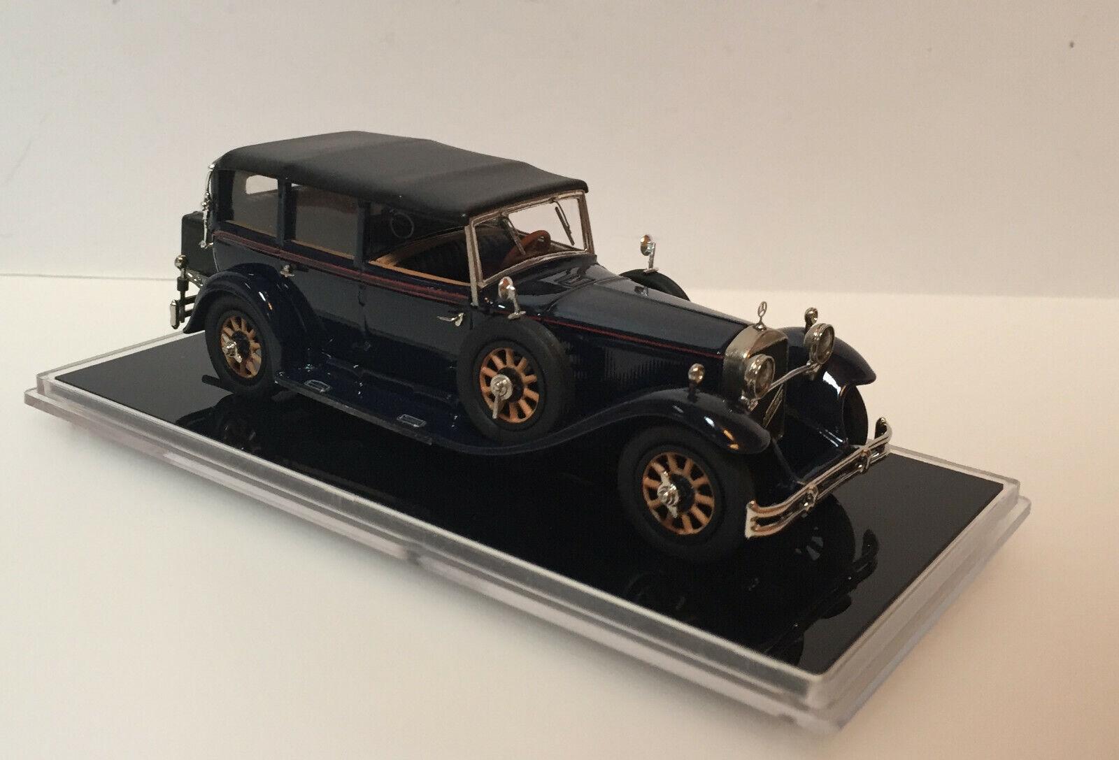 "1 43 1930 MERCEDES BENZ 460 Cabriolet F ""NURBURG   Top Up Limousine"