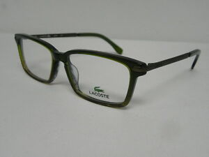 33417511e4c2 Image is loading Lacoste-L2720-315-Green-Lime-Gradient-52mm-Eyeglasses-