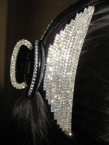 Gorgeous Hair Claw Clip w//Authentic Swarovski Finest Crystals #18