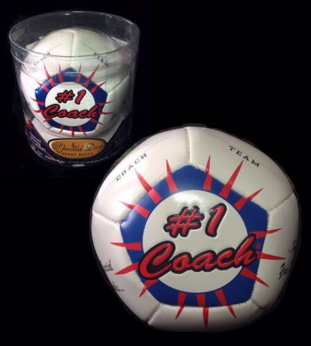 Football équipes' #1 coach Appreciation Day ~ Ballon de Football Souvenir NEUF