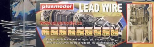 Modell-Bausatz 1:32//48//72//87 Tipp Plus Model 1mm Kabel Leitung Anschlusskabel f
