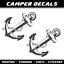 Camper Aufkleber Wohnwagen Wohnmobil sticker 2x dekoration Anker mclouis diamant
