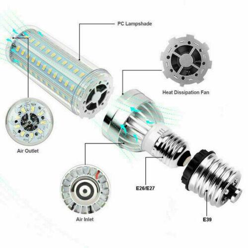 Super Bright Corn LED Light Bulb 54W 500Watt Equivalent E26 with E39 Mogul Base