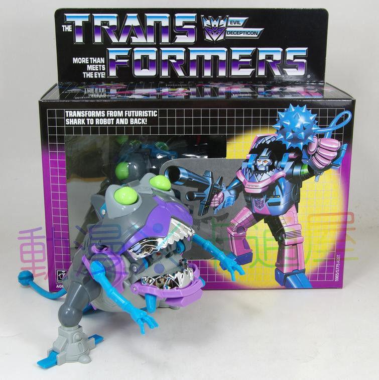 G1 transformers sharkticon neuauflage brandneue geschenk