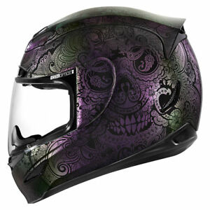 fe5ddd55 Image is loading ICON-AIRMADA-034-CHANTILLY-OPAL-034-HELMET-MOTORCYCLE-
