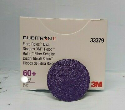 3M Cubitron II Fibre Roloc Disc 33377 in 50mm 36grit 15 discs