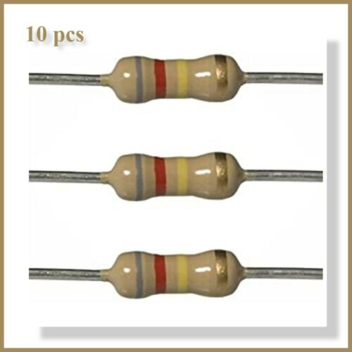 820 Ohm Resistors perfect for LED/'s to turn them into 18v Supply