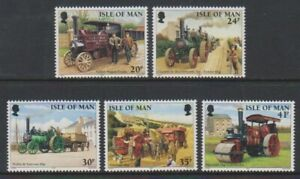 Isle-of-Man-1995-Steam-Traction-Engines-set-MNH-SG-629-33