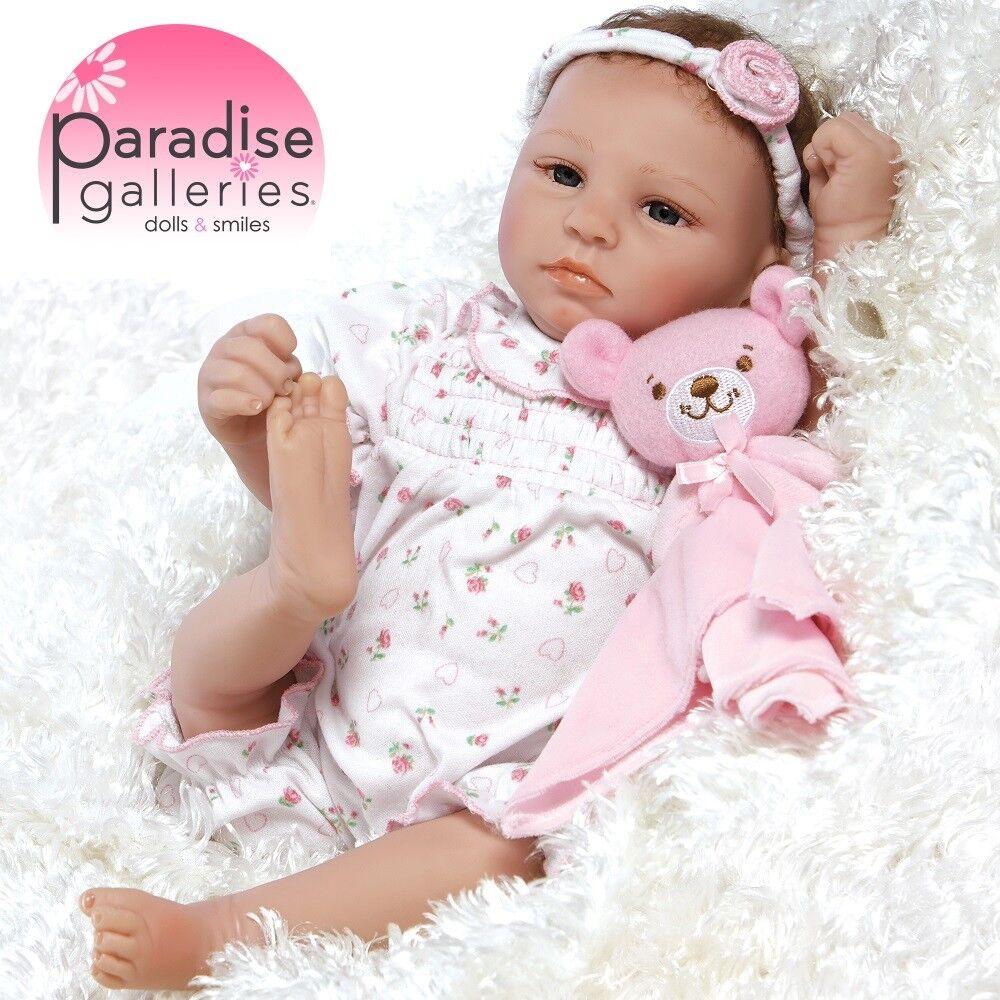 Galerías Paraíso Muñeca Reborn Bebé niñas paquete de alegría, de 18 pulgadas bebé recién nacido