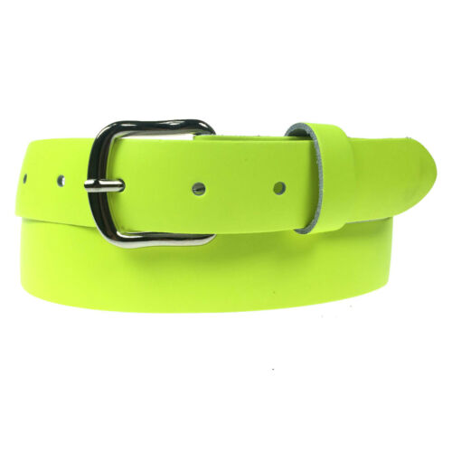 """30mm Colourful 100/% Real Leather Handmade In England Mens Womens Sizes 28/""""-44/"""""""
