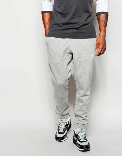 Fleece Hombres Skinny Nike Joggers M Tapered Xl S Sweats Gris 716830 Heather Defecto qwIdXrw