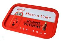 Coca Cola Tint Collectible Serving Tray Red/white