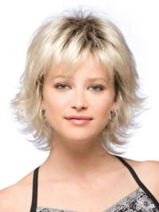 Hot Style! New Fashion Sexy Women's Short Blonde Natural Full wigs ...