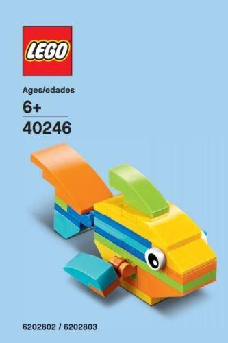 Lego Regenbogen Fisch Monatlicher Gebaut 40246 Pe-Beutel Neu