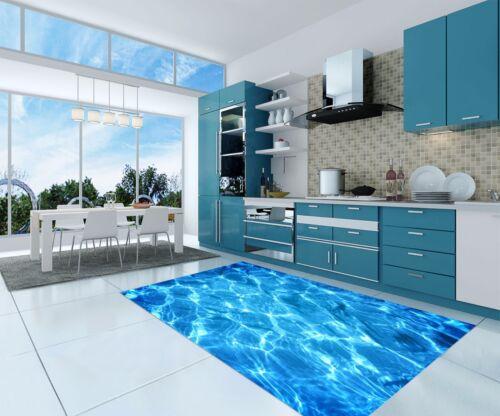 3D Pool Blue 676 Kitchen Mat Floor Murals Wall Print Wall Deco AJ WALLPAPER UK