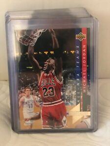 ffacd55db5a MICHAEL JORDAN 1993-94 UPPER DECK ALL NBA INSERT #AN15 CL BULLS! | eBay