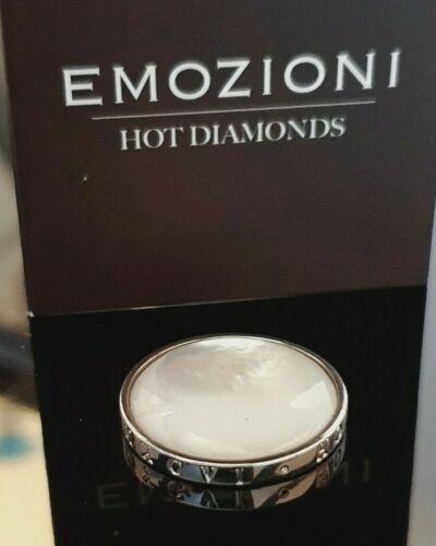 £ 40.00 Emozioni Hot Diamonds Madre de Perla 25mm moneda de plata