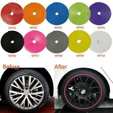 Vehicle Wheel Rim Protector 1x For Peugeot 1007 206 207 306 307 308 406 407 607