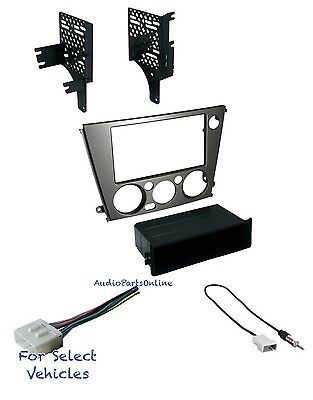 Car Stereo Radio Dash Install Kit Combo for some 2005-2009 Subaru Outback/Legacy