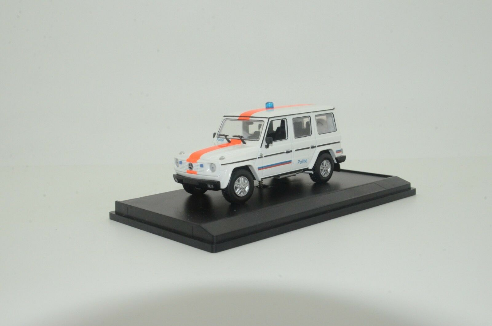 RARE     Mercedes G-Class Belgium Police Polizei Custom Made 1 43