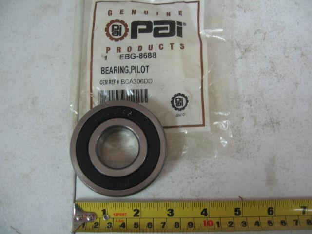 PAI # EBG-8688 Ref.# SKF 6306-2RS BCA 306DD Fuller 5566505 Clutch Pilot Bearing