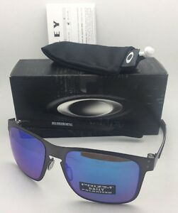 ce1f64927b1 Image is loading Polarized-OAKLEY-Sunglasses-HOLBROOK-METAL-OO4123-07 -Gunmetal-