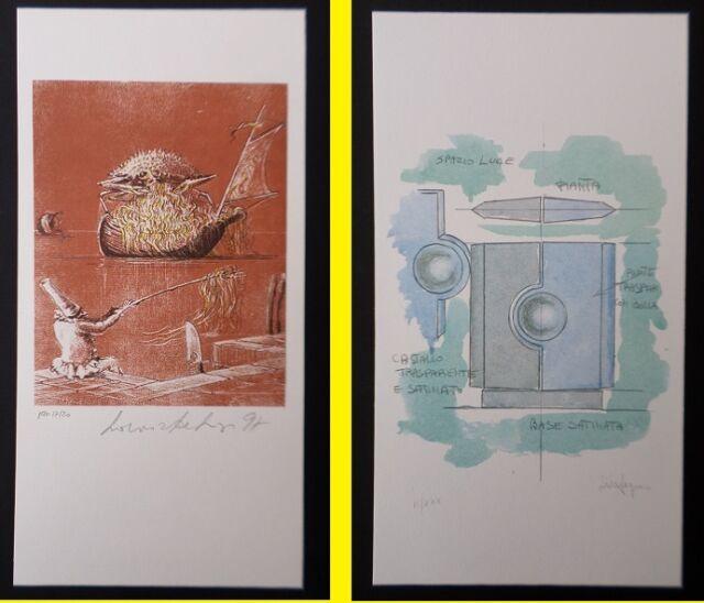 2 Lithographies : à identifier / état impeccable * A SAISIR