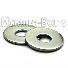 QTY 2-4-6-10 12mm M12 Screw Size Flat Washer 18-8 Stainless Steel