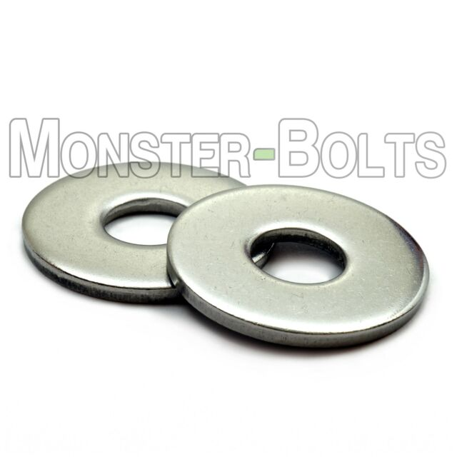 M3 A2 Stainless Steel Flat Washers 100 Pack Free P/&P