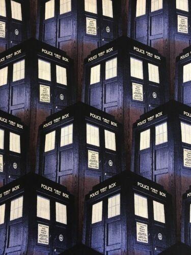 Springs Creative Patchwork//Manualidades Tela-Dr Who-Caja de policía 51563