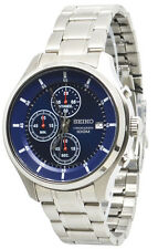 Seiko Chronograph SKS549 Blue Dial Stainless Steel Men's Watch