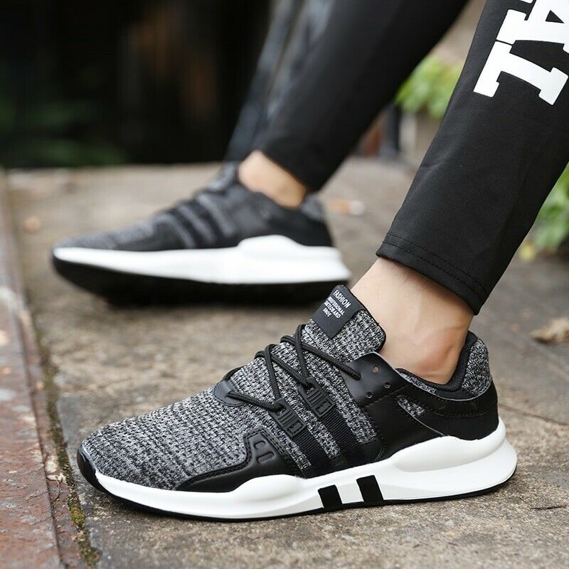 Hot Sale Running shoes For Men Lace-up Athletic Trainers Sports Male shoes
