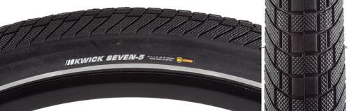 27.5x1.75 Kenda Kwick Black ATB//BMX tire w// reflective stripe