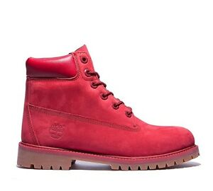 release date: best choice lowest discount Details about Timberland A13HV - 6 Inch Premium Girls - Womens Red  Waterproof Boots