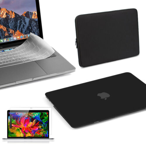 4 in 1 Bundle MacBook Pro Touch Bar 13 inch Case 2018//2017//2016 Hard Cover Bag