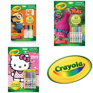 Crayola-Coloring-amp-Activity-Pad-amp-Markers-Buy-1-Get-1-25-OFF-Add-2-to-Cart