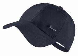Nike H86 Metal Swoosh Cap, One Size (Navy) - 943092-451