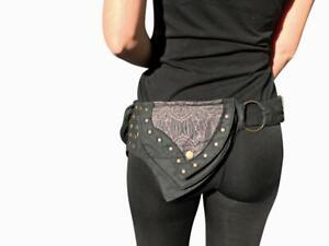 Unisex Utility Belt,Festival Belt,Fanny Pack,Pocket Belt.Travel Belt,Hip Belt,Burning Man,Steampunk,Hip Bag.Bump Bag,Fits iPhoneSamsung.