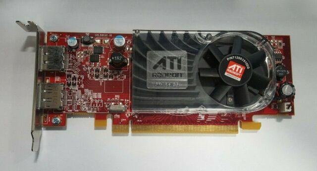NEW Dell W459D ATI AMD Radeon HD3470 256MB Dual Display Port PCI-E Video Card