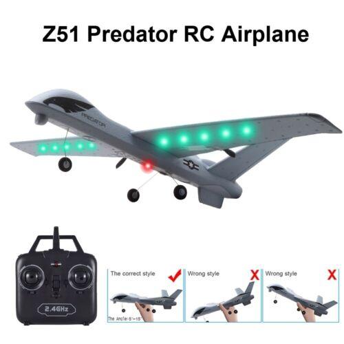 2.4G RC Drone Airplanes RTF Radio Remote Control Glider Plane Toys Gift 2CH
